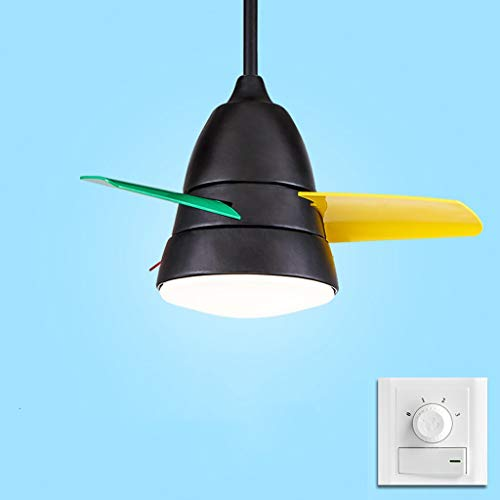 Ventilador de techo luz luz Ventilador Ventilador de techo sencillo y moderno...