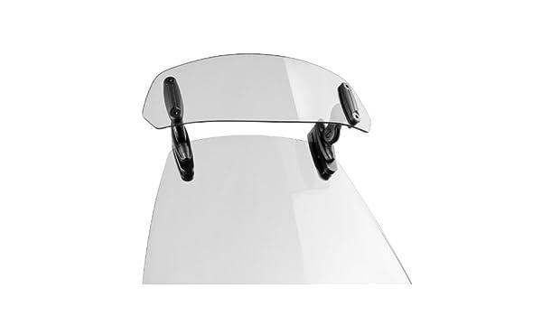 Motorbike Puig Screen deflector Windscreen Windshield Suzuki Burgman 400 10-16 Puig Clip-On Spoiler clear