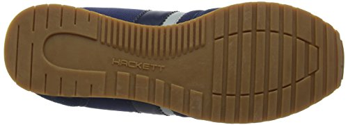 Hackett London Halkin, Sneaker Uomo Blu (Navy)