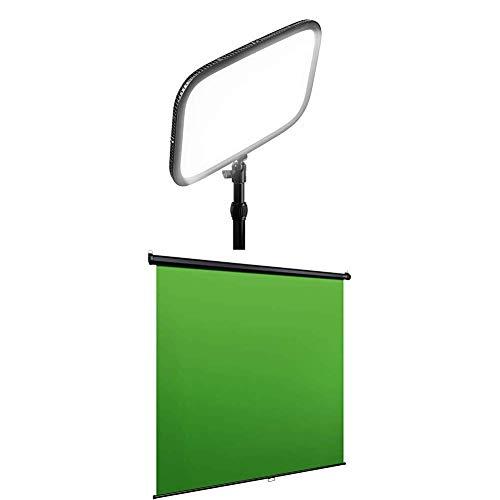 Elgato Key Light Panneau LED Professionnel de Studio avec 2800 Lumens,  Couleur Réglable, Contrôlable par Application, pour PC et Mac, Support de