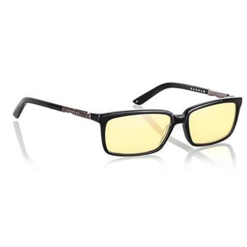 Gunnar Optiks Haus Negro - Gafas de Seguridad (Negro, Amarillo)