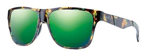 Smith Optics Herren Sonnenbrille Sportbrille Lowdown, Grün (WK 7 Green Havana), 56