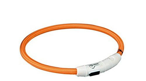 Trixie USB Leuchtring - M/L - Orange