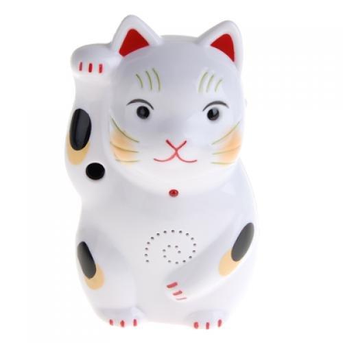 Katze geformte Sensor Bewegungsmelder Welcome Chime sprechen