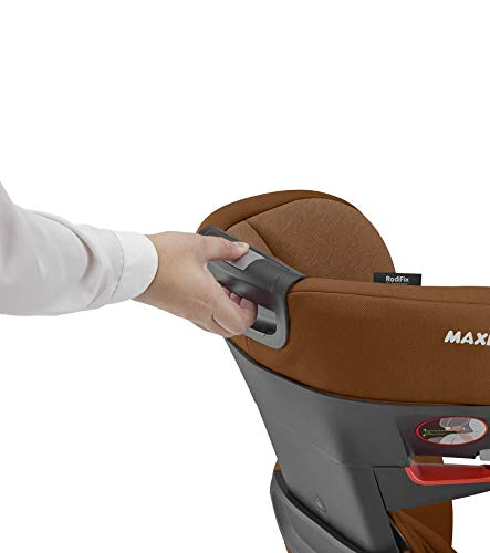 Maxi-Cosi RodiFix AirProtect Child Car Seat, Isofix Booster Seat, Cognac, 15-36 kg Maxi-Cosi Booster car seat for children from 15-36 kg (3.5 to 12 years) Grows along with your child thanks to the easy headrest and backrest adjustment from the top Patented air protect technology for extra protection of child's head 4