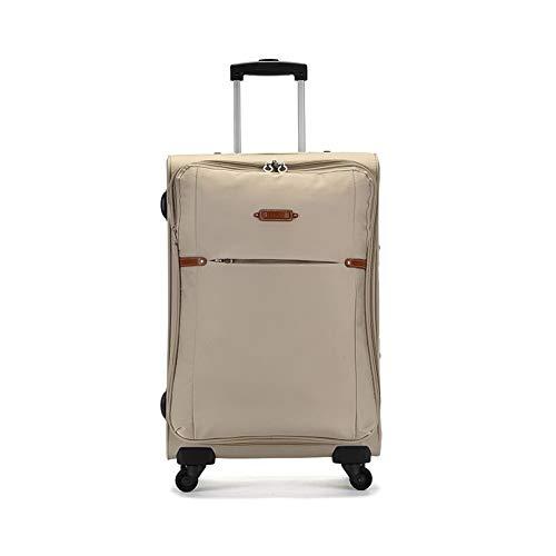 04fc035a2e88 Qzny Valigia, Valigia Trolley da Viaggio di Grande capacità Borsa da ...