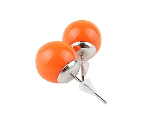 demarkt-fashoin-boucle-doreille-clou-doreille-rondes-design-simple-pour-les-femme-couleur-orange