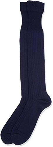 Pompea scozia, calze al ginocchio uomo, blu (navy 1556), 42/43 (taglia produttore:11/11.5)(pacco da 6)