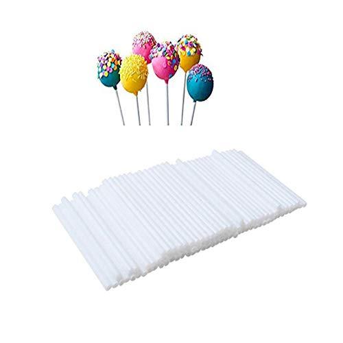 ollipop Sticks für Hausgemachte Kuchen Schokolade Cake Pops Donut Candy Lutscher, 3,1 Zoll, Hohl, Durable, Kurz ()