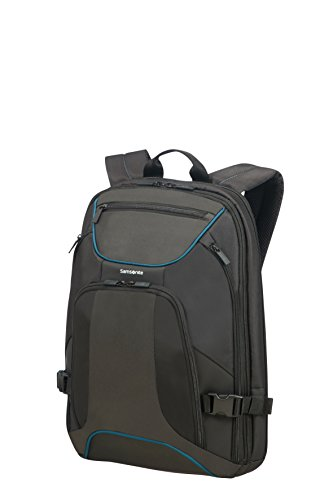 "SAMSONITE Kleur - Backpack for 15.6"" Laptop 0.8 KG Mochila Tipo Casual, 44 cm, 18 Liters, Negro (Black/Anthracite)"