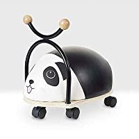 Balance Bug Panda Toy Beehive Toys Wooden Ride On Baby Ride-On Car Ride Along Toy Indoor Ride On Toy For 1 Year Old