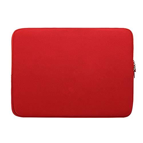 """Housse pour Ordinateur Portable Sacoche pour Ordinateur Portable Sac à Main pour 17"""" ThinkPad, Acer, ASUS, HP, Lenovo und Dell,Rouge 2"""