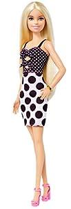 Barbie Fashionista muñeca con el pelo rubio y largo  (Mattel GHW50)