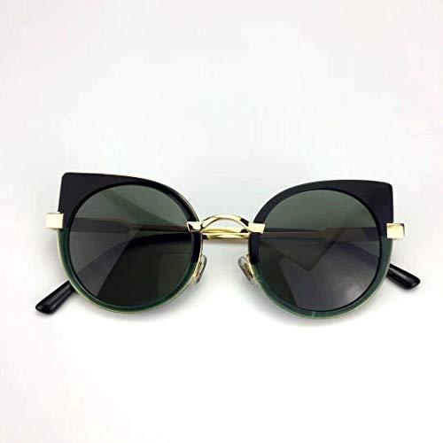 SCJ Die weibliche Katze Auge Sonnenbrille Mode Jian Yue Star-Stil der Sonnenspiegel die Sonnenbrille ist super, um alte Bräuche leicht wiederzubeleben Flut, um alte Bräuche eine Persönlichkeit w