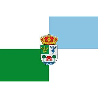 DIPLOMAT Flagge Antigüedad | Antigüedad, in Palencia province, Spain | Municipal de Antigüedad provincia de Palencia | Querformat Fahne | 0.06m² | 20x30cm für Flags Autofa