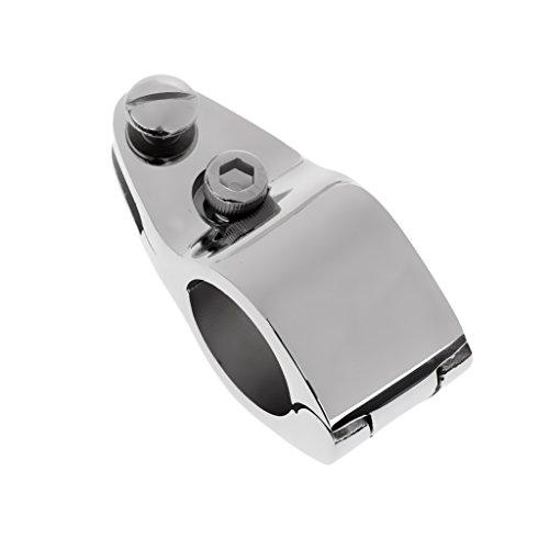 MagiDeal Rohr Klemme Rohrschelle für Boots- Sonnenverdeck Sonnensegel Bimini Top Befestigung Schelle, Tube Clamp, Für 25mm Außendurchmesser Rohr