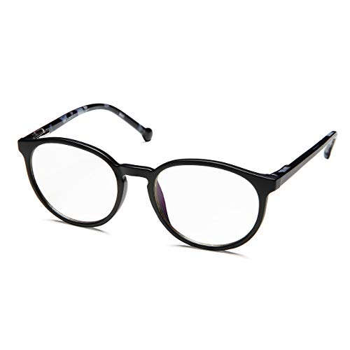 PROSPEK - KIDS COMPUTER BRILLEN: Anti Blaulicht Brillen für Kinder ab 4 Jahren (Sharp - Schwarz) -