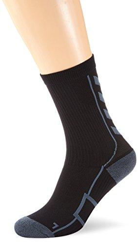 Hummel calze Tech Indoor calzino basso Nero Black/Dark Slate 12 (41-45)