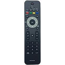 Vinabty Nuovo sostituita telecomando 242254901834 per PHILIP TV 19PFL3403/10 19PFL3403/78 19pfl3403d/27 20PFL3403 22PFL3403/10 22PFL3403/60 22pfl3403s/10 22pfl3403s/60 26PFL3403 32pfl5603d/27