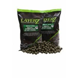 BOUILLETTES STARBAITS LAYERZ COATED BOILIE KELP 18MM 800G