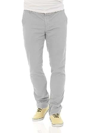 SOLID MAK Pants Light Grey, Größe:W36/34