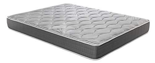 ROYAL SLEEP Colchón viscoelástico Carbono 90x190 firmeza Alta, Gama Alta, Efecto regenerador, Altura...