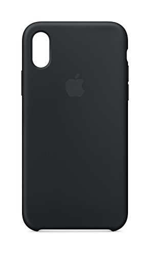 Apple Custodia in silicone (per iPhone X) - Nero