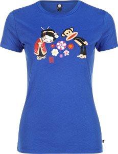 Paul frank julius in japan t-shirt pour femme Bleu - Bleu princesse