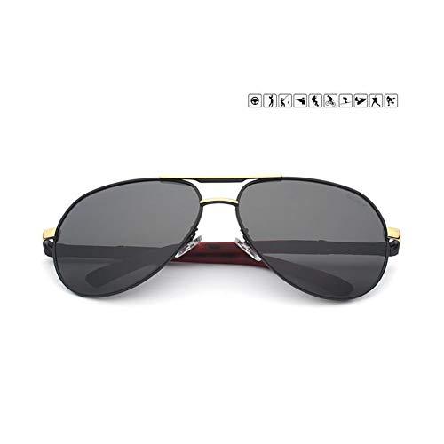 TIANZly Männer Sonnenbrille Aluminium Magnesium Polarisierte Pilot Brille Fashion Classic Pilot Sommer Schutz Sonnenbrille Brille Uv400