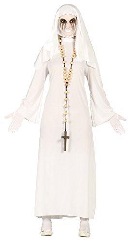 Nonne Halloween Religiös Unheimlich Kostüm Kleid Outfit 14-18 - UK 14-18 (Unheimliche Halloween Kostüme Uk)