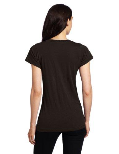 LNA S/s Crew Neck - T-shirt - Femme Noir - Noir