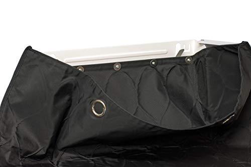 meinPAKETSACK Safety - die sichere Paketstation für Zuhause, Paketbox für alle Paketdienste zur Annahme von Paketen in Miet- und Eigentumswohnungen, universelle Montage & platzsparend - 9