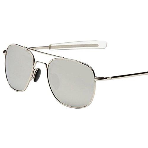 Super Glatt Militär-Stil Sport Pilotenbrille,C8-150mm