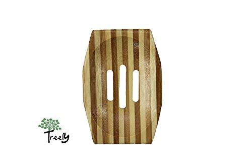 Seifenschale aus Bambus im Stäbchen-Farbenmix - 7