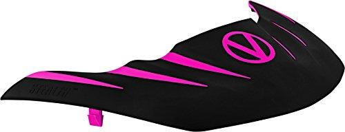 Stealth Paintball Maske Visier für Virtue VIO Contour/erweitern/Dye I4/Empire E-Flex-/V-Force Grill/Profiler und mehr, rosa / schwarz