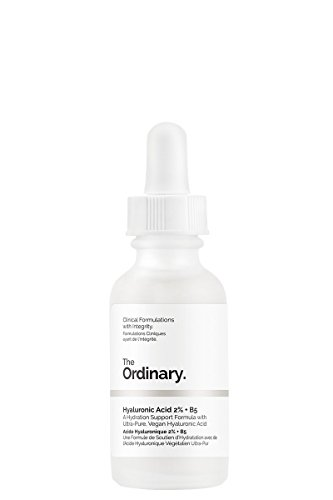 The Ordinary\' Hyaluronic acid 2{57326bace53db6bd675de68d65937c97ff132606d3aac66045189710602f7510} + b5 30ml, a hydration support formula with ultra-pure, vegan hyaluronic acid