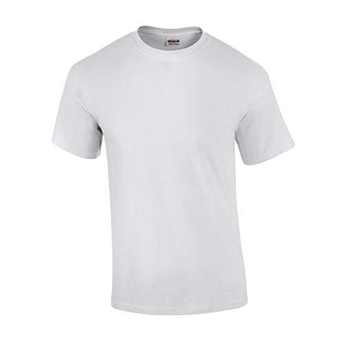 Gildan - T-Shirt Ultra - Übergrößen bis 5XL M,White