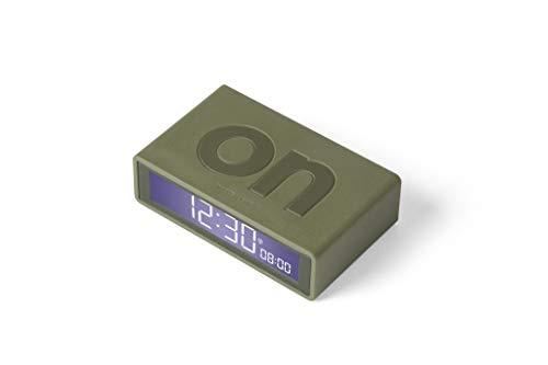Lexon Flip RCC Despertador LCD Khaki