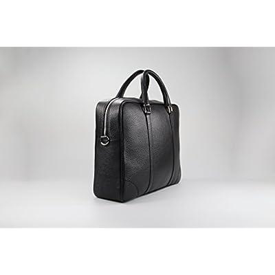 Cartella Icon - Nero - Fantinato Officine della pelle - handmade-bags
