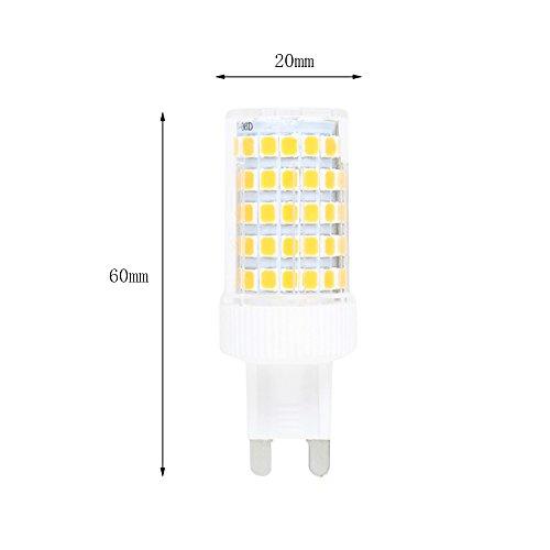 Lampadine G9 Led 100w.Confezione Da 6 G9 Led Lampadine 10w Dimmable Led Bulb 86