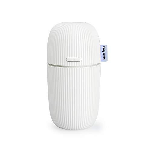 VADIV Humidificador Difusor de Aceite Esencial Aroma para Coche 100ml Perfume Ultrasónico Cool Mist Portátil Purificador de Aire con Niebla Congeladores Cable USB Ideal para Viaje Estar DH01