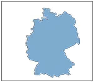Falk Premium Outdoor-Karte Deutschland für Ibex und Lux