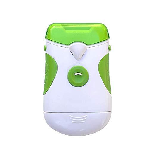 Männer Zehennagel Clipper (RecoverLOVE Elektro-Nagelknipser Tragbarer Elektro-Nagelschneider & Filer, Maniküre-Set für sichere Nagelfeilen Hand- und Zehennägel Pediküre-Werkzeug für Babys, Kinder und ältere Menschen)