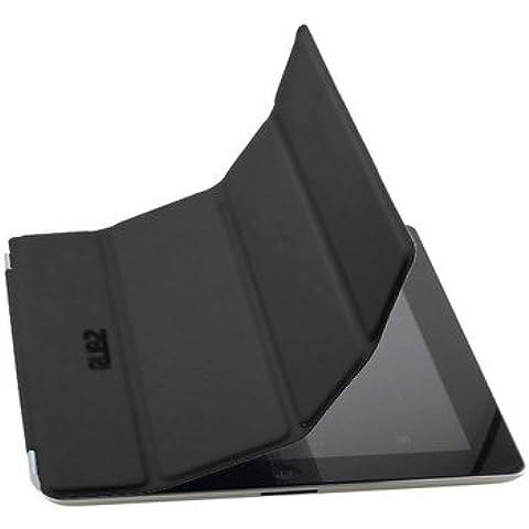 Rubz iPad 2 sottile nero Smart Card con chiusura magnetica custodia con supporto per Apple iPad 2 Tablet RUB501 - Teenager Gift Card