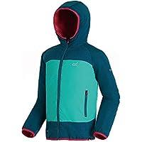 Regatta Kinder Volcanics Ii Waterproof and Breathable Lightweight Insulated Reflective Hooded Jacke
