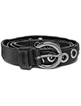 Replay Women's Douglas Women's Leather Black Belt 100% Leather