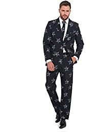 Lekeez® Stag Do Suit Christmas 2018 Novelty Fancy Stand Out Dress Xmas Costume