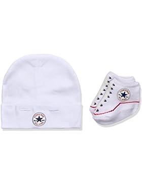 Converse Unisex Baby Bekleidungsset Hat and Bootie
