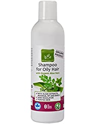 Shampooing pour cheveux gras avec l'Aloe Vera Bio