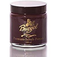 Burgol Premium scarpe Pomade–per Pelle liscia 100ml, (bordeaux), 100 ml